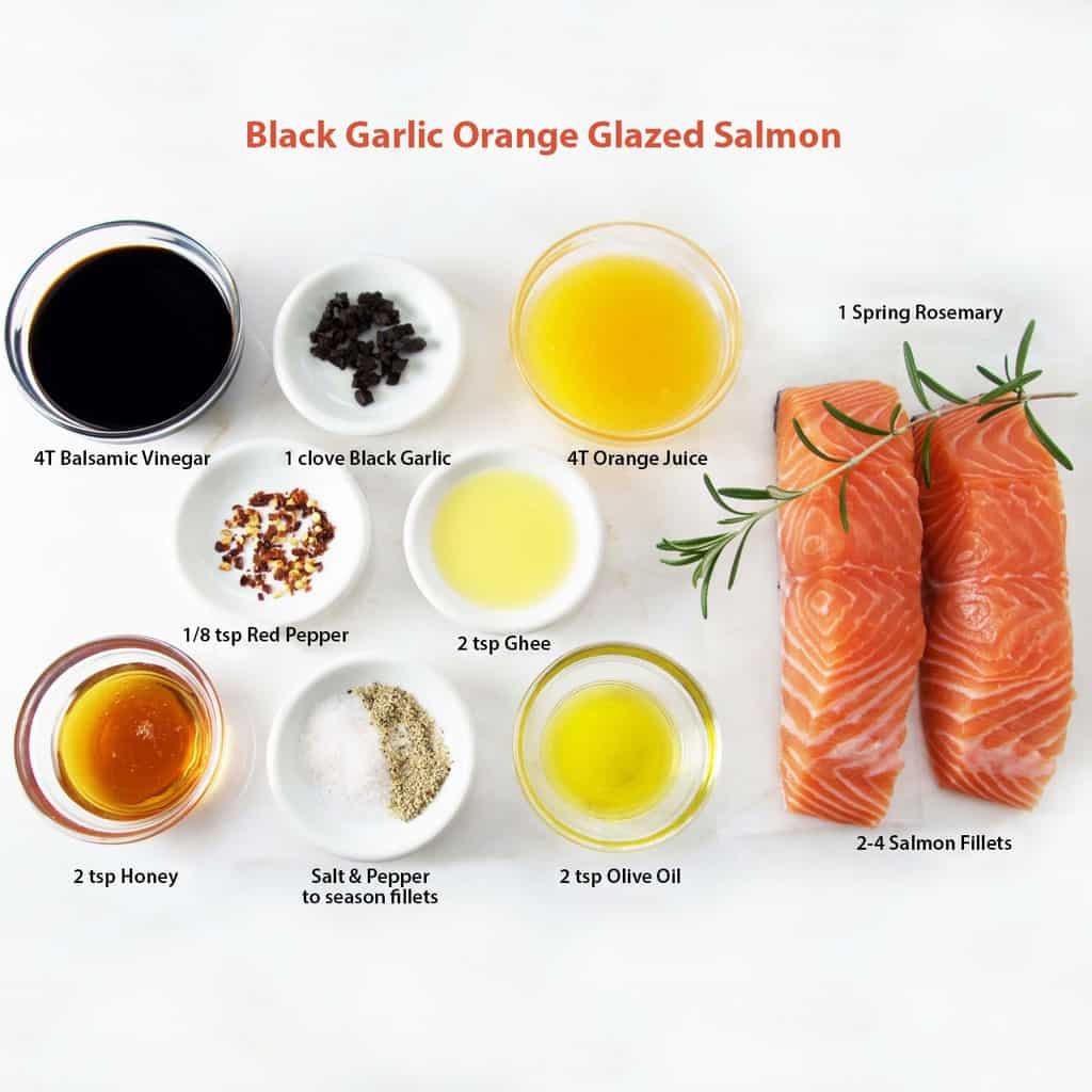 Brod and Taylor Black Garlic Salmon recipe eng
