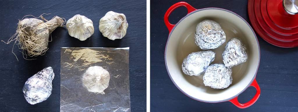 Making Black Garlic